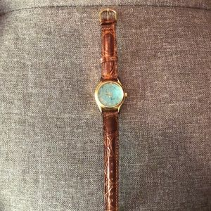Beautiful Vintage Fossil Watch.